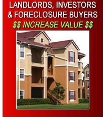 Landlords, Investors, Foreclosure Buyers Increase Value